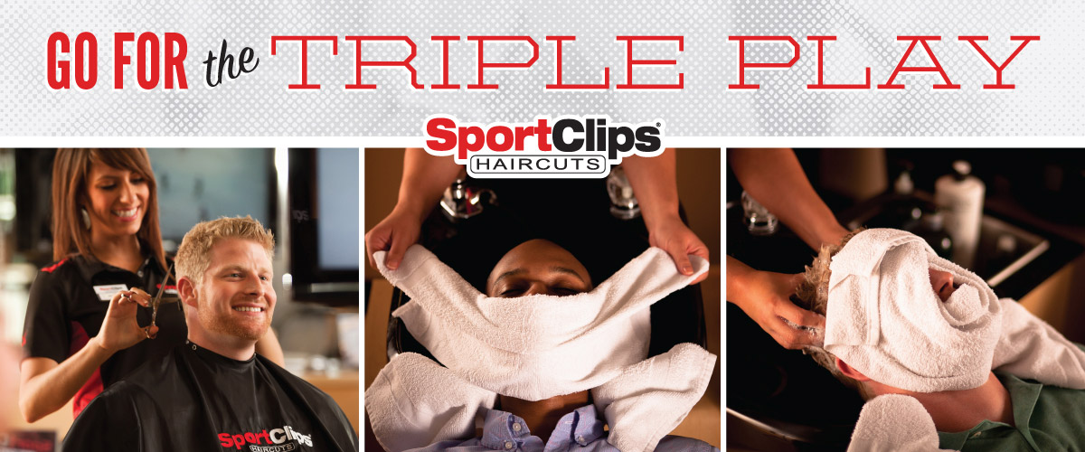 The Sport Clips Haircuts of Clear Lake Triple Play